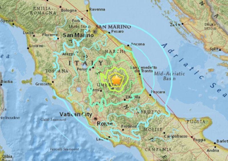 Photo of У земљотресу у Италији неколико људи повријеђено
