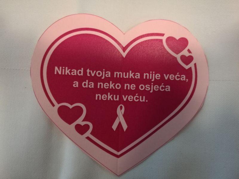 Photo of Brčko: Zajedno u borbi protiv karcinoma dojke, sutra podjela ružičastih vrpca