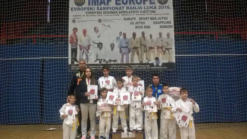 """Photo of """"Lokosima"""" osamnaest medalja na Evropskom prvenstvu"""