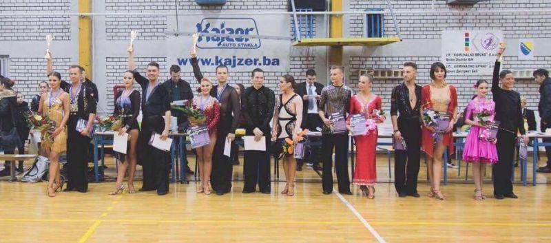 Photo of Plesni par iz Rusije odnio pobjedu na takmičenju školske plesne lige BiH