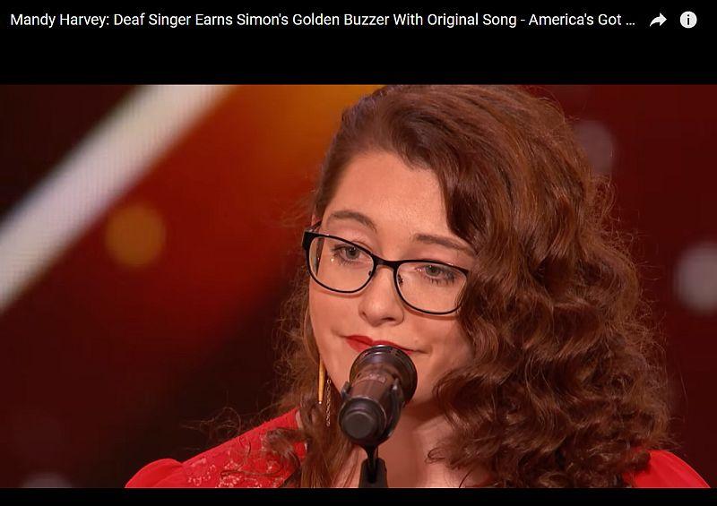 """Photo of Gluha djevojka pjevanjem rasplakala žiri i publiku u takmičenju """"America's got talent"""""""