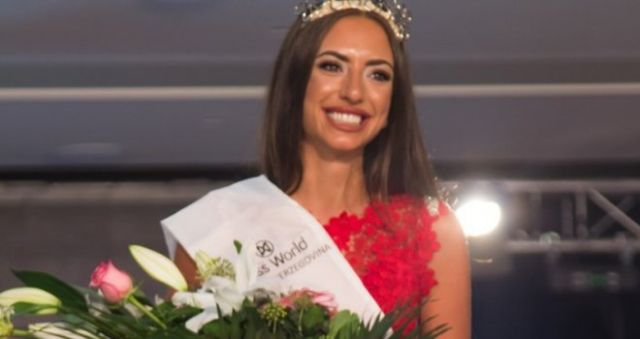 Photo of Aida Karamehmedović Miss Bosne i Hercegovine za 2017. godinu