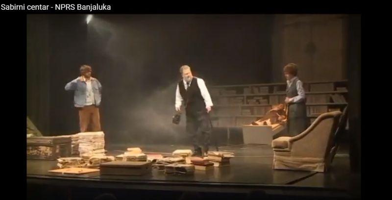 "Photo of Na večerašnjem repertoaru ""Sabirni centar"" Narodnog pozorišta RS-a iz Banja Luke (Video)"