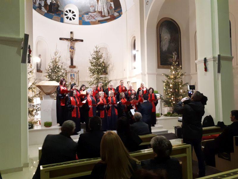 Photo of Brčko: Božićni koncert u crkvi Presvetog Srca Isusova