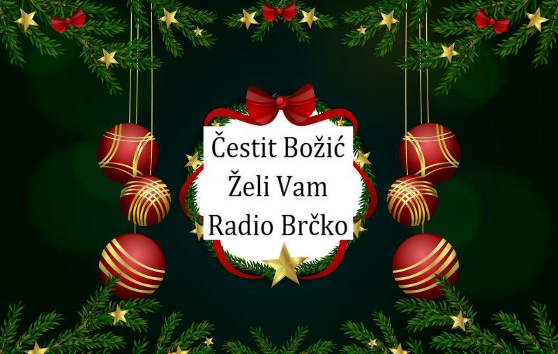 """Photo of Čestitka JP """"Radio Brčko"""" povodom katoličkog Božića"""