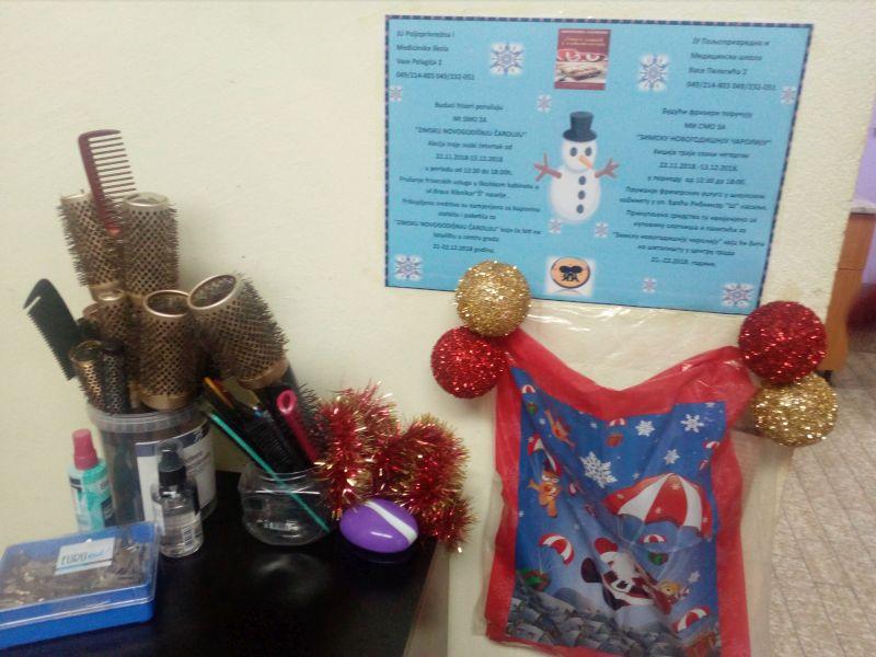 """Photo of Брчко: Ученици фризери у акцији за """"Зимску новогодишњу чаролију"""""""