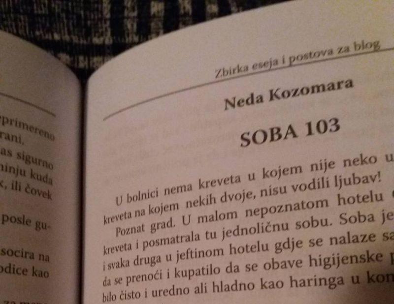 """Photo of Priča Nede Kozomare objavljena u zbirci eseja i postova """"Reč u mreži"""""""