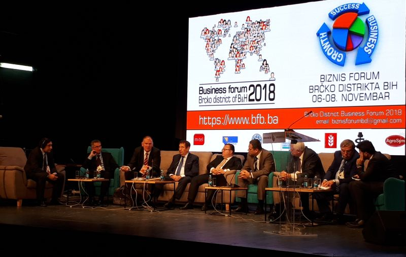 "Photo of Otvoren drugi ""Business forum Brčko 2018"" – Fokus na migracijama i ekonomiji"