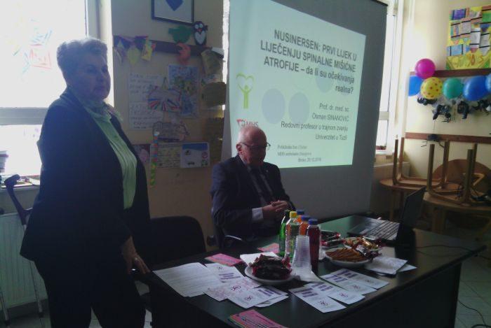 Photo of Dr. Sinanović u Brčkom održao predavanje o mogućnostima liječenju distrofije