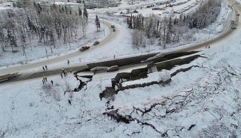 Photo of Aljaska: Za samo pet dana obnovljene saobraćajnice porušene u zemljotresu