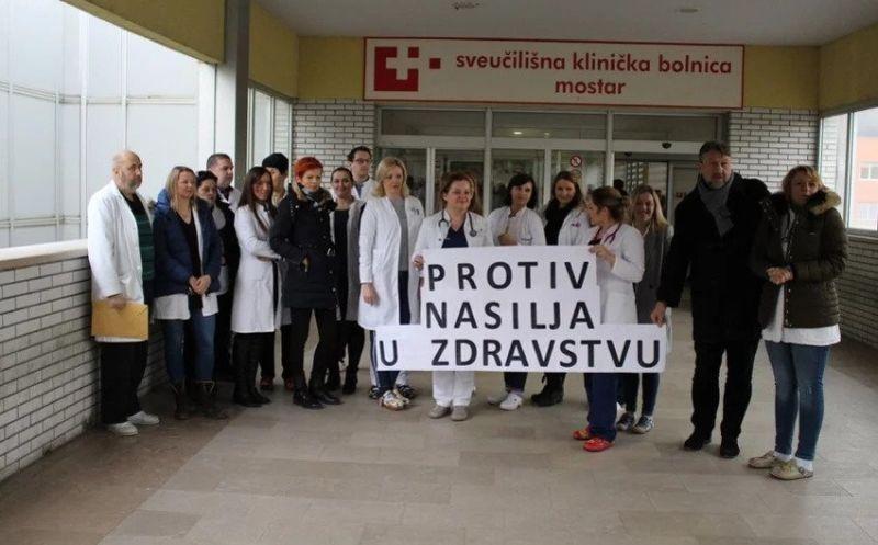 Photo of FBiH: Ljekari protestovali protiv nasilja u zdravstvu