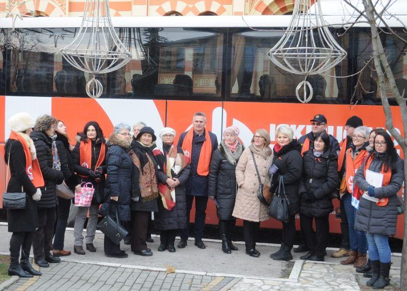 Photo of Наранџасти аутобус стигао у Брчко