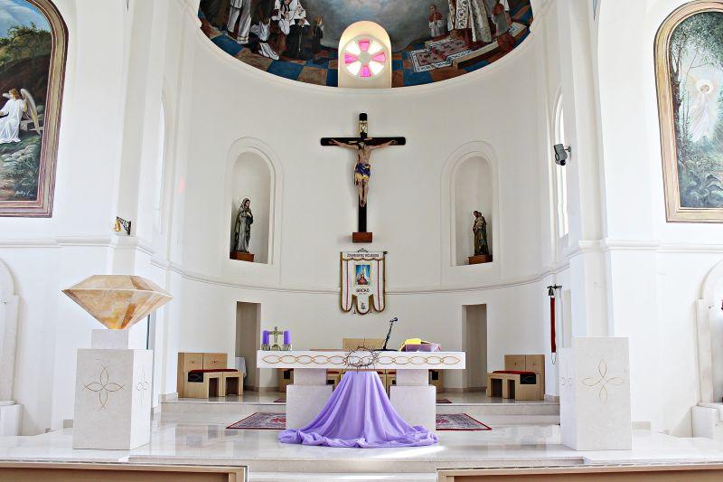 Photo of Enterijer crkve Presvetog Srca Isusova u Brčkom na izložbi najboljih projekata iz BiH u Grazu