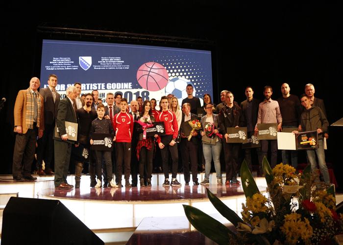 Photo of Proglašeni najbolji sportisti Distrikta za prošlu godinu (Foto)