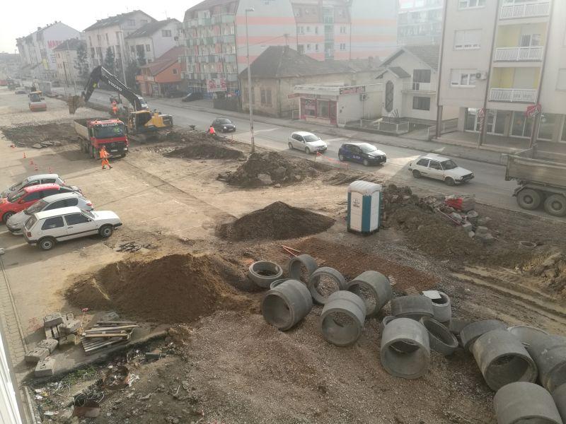 Photo of Radovi na proširenju Bulevara mira u Brčkom (Foto)