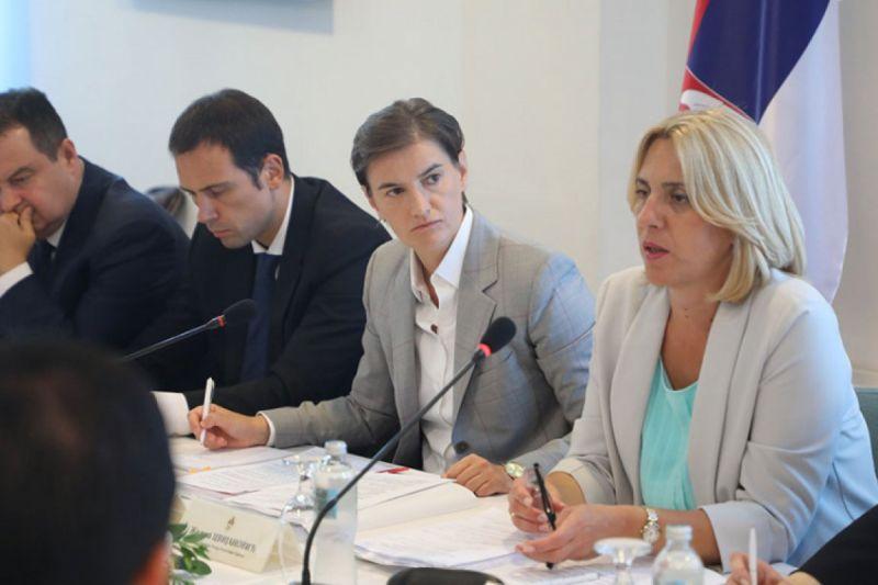 Photo of Vlade Republike Srpske i Srbije na zajedničkoj sjednici u Beogradu