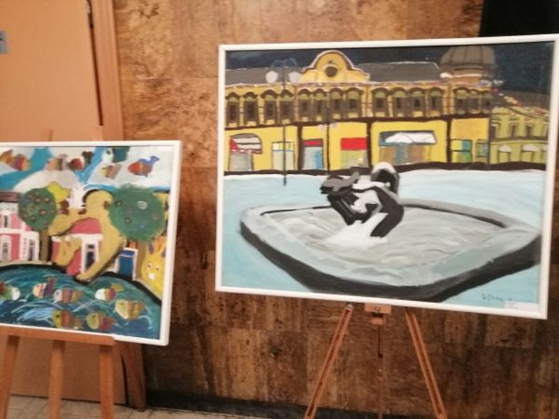 Photo of Brčacima sinoć predstavljeni likovni radovi mladih umjetnika
