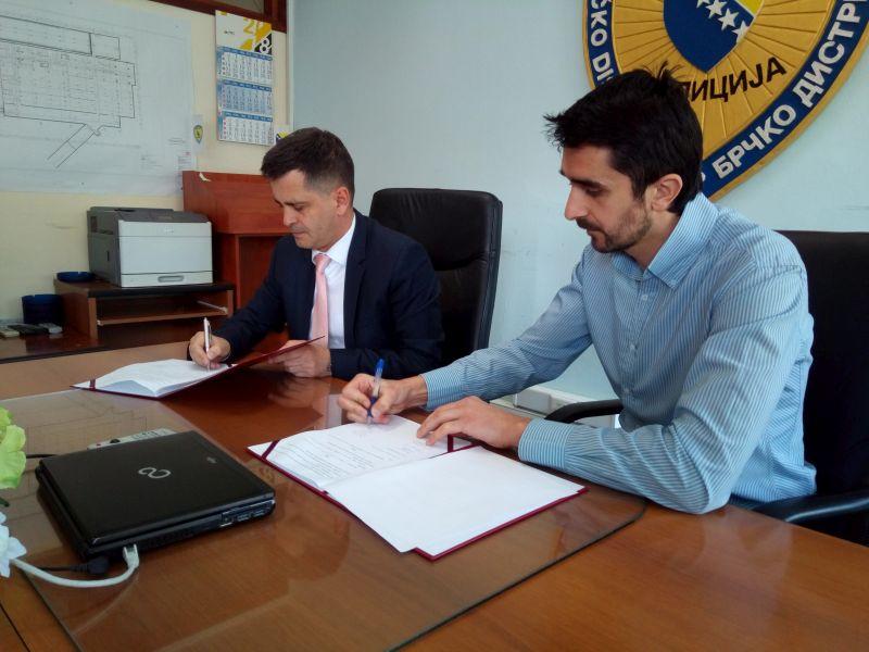 """Photo of Policija i biciklisti potpisali """"Memorandum o saradnji"""""""