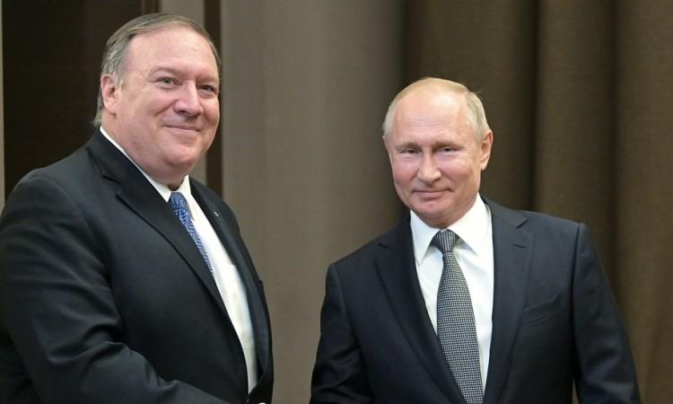 Photo of Putin i Pompeo naglasili bolje odnose Rusije i SAD-a