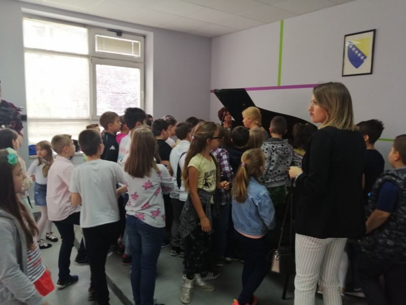 "Photo of Osnovna muzička škola organizovala ""Dan otvorenih vrata"""