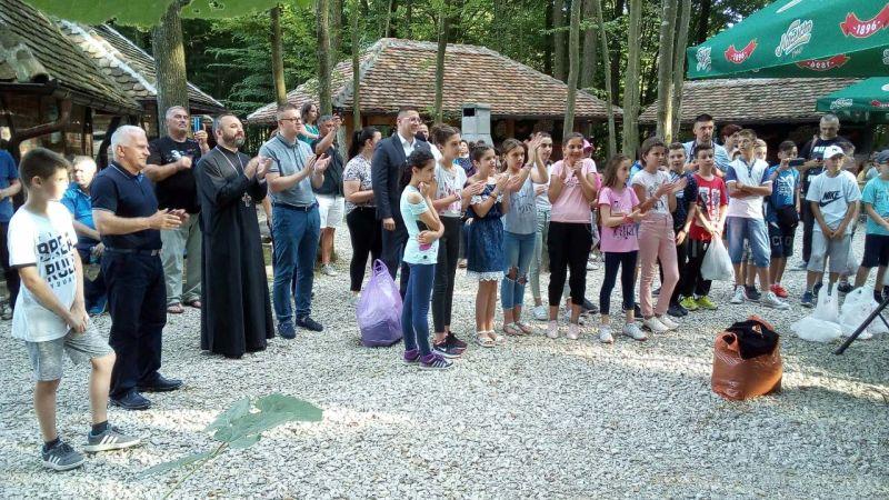 """Photo of U etno selu """"Brezička dolina"""" upriličeno druženje za djecu sa Kosova i Metohije"""