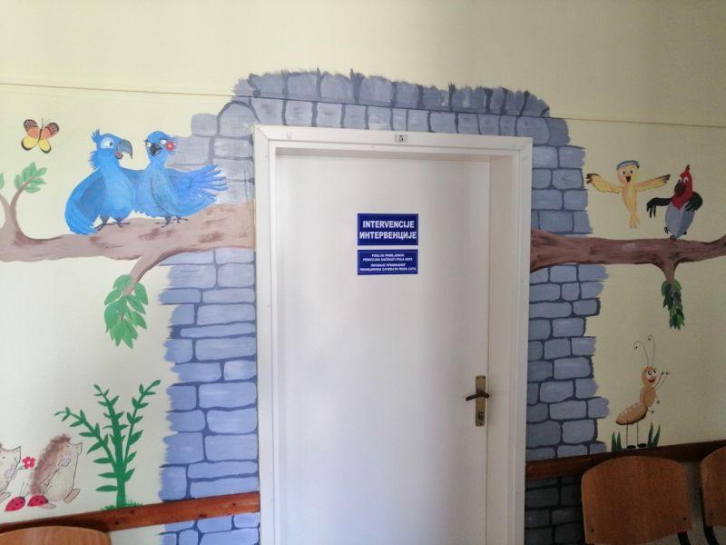 Photo of Brčko: Oslikavanje zidova Dječjeg dispanzera motivima iz prirode