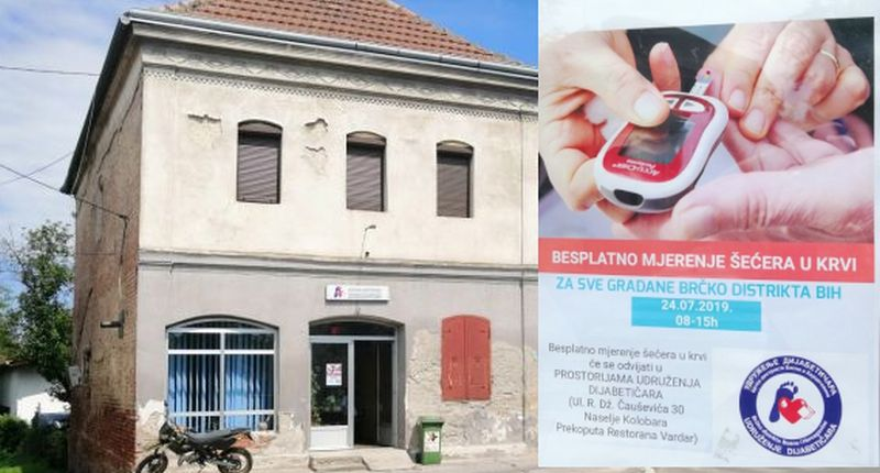 Photo of Brčko: Udruženje dijabetičara organizovalo akciju besplatnog mjerenja šećera u krvi
