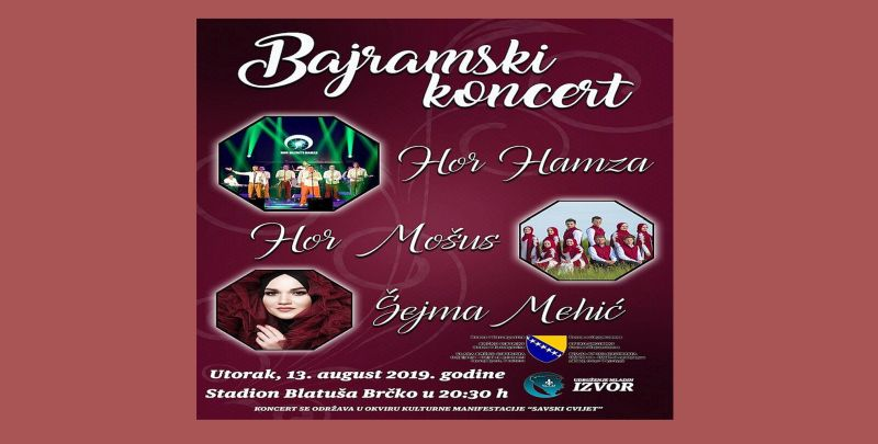 "Photo of Večeras Bajramski koncert: Hor ""Mošus"", hor ""Hamza"" i Šejma Mehić"