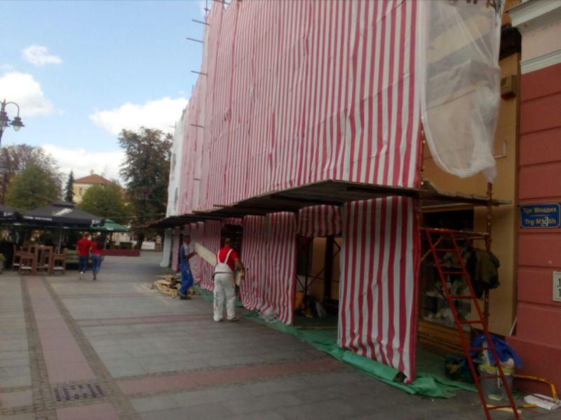 Photo of Брчко: Почела обнова фасада на Тргу младих