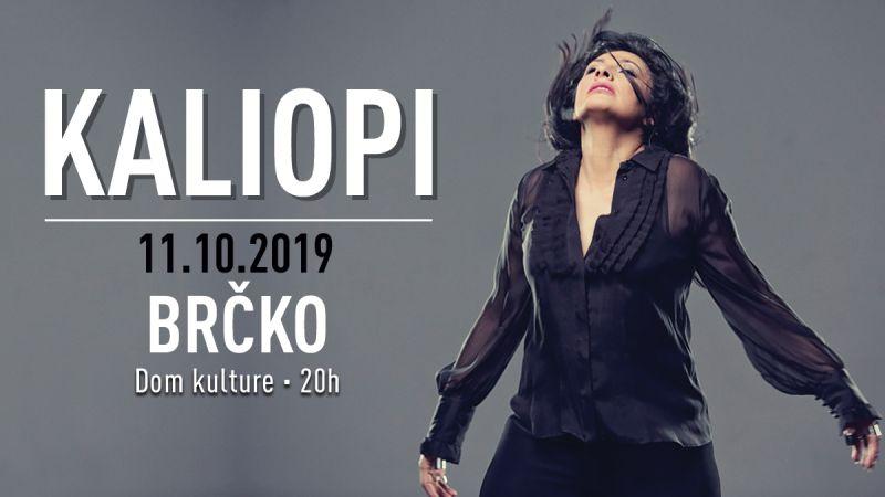 Photo of Koncert Kaliopi 11. oktobra u Brčkom