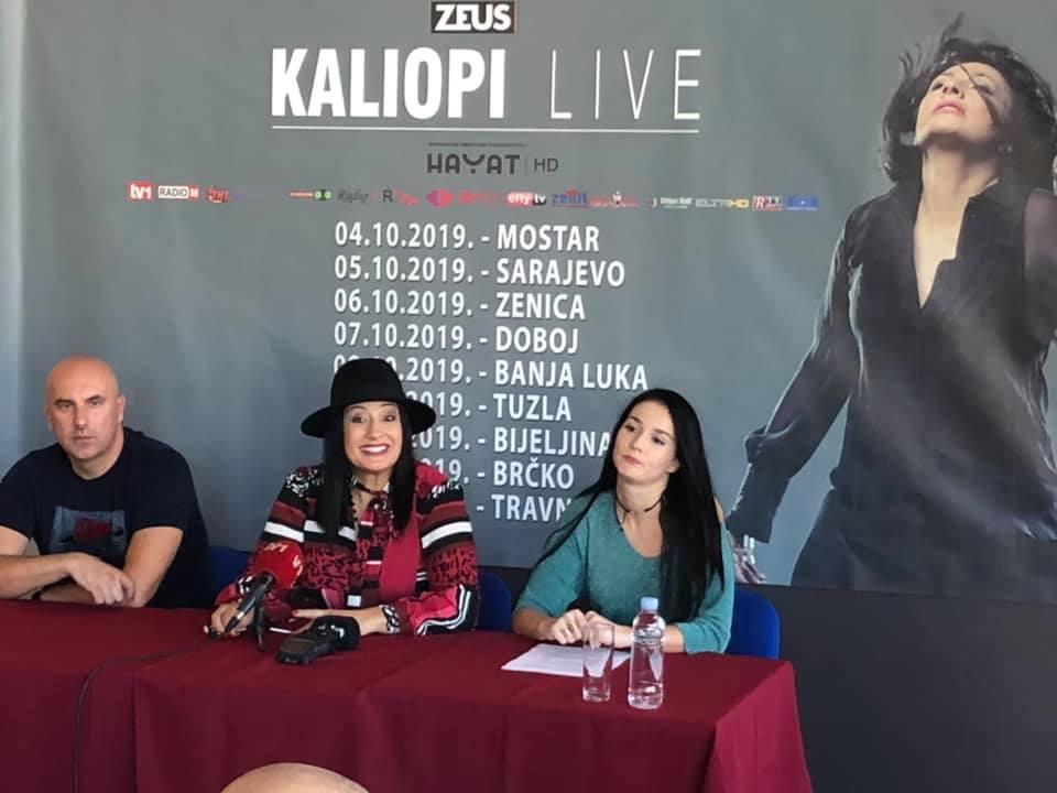 Photo of Kaliopi u Sarajevu najavila veliku jesenju turneju u BiH