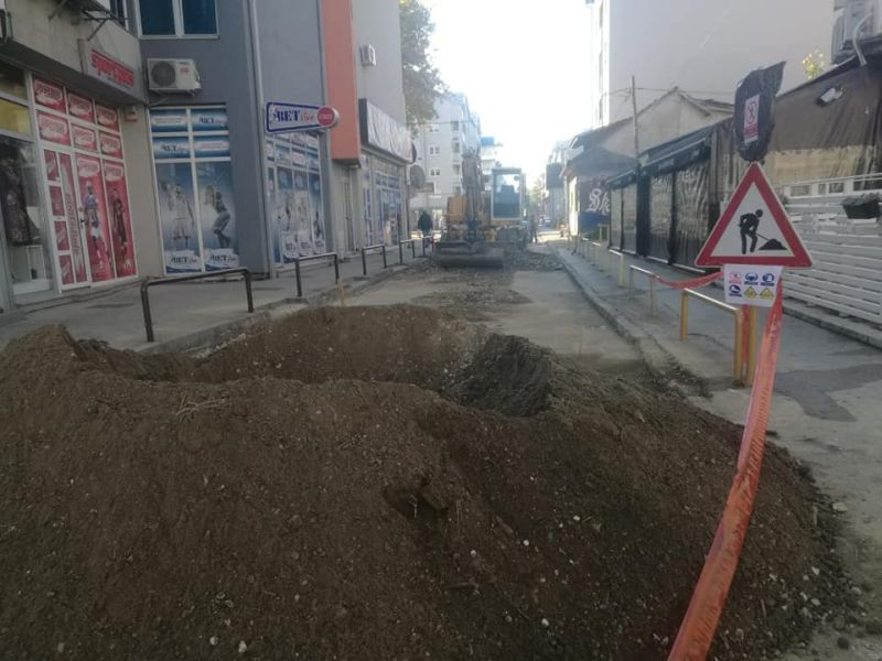 Photo of Реконструкција улице Бранислава Нушића
