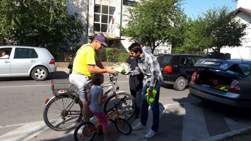 Photo of Brčko: Većina biciklista se vozi trotoarom