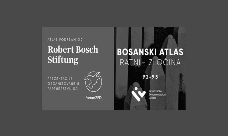 Photo of Brčko: U srijedu prezentacija Bosanskog atlasa ratnih zločina 1992-1995