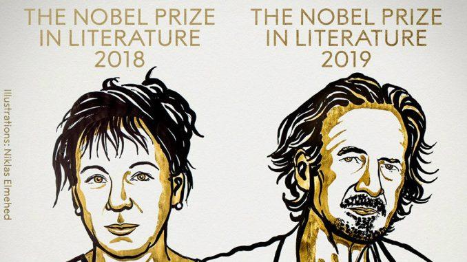 Photo of Nobelova nagrada za književnost Olgi Tokarczuk za 2018., Peteru Handkeu za 2019.