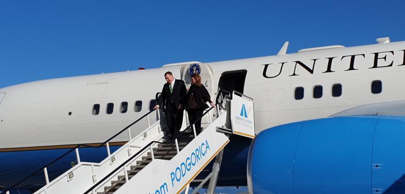 Photo of Državni sekretar SAD-a Mike Pompeo stigao jutros u zvaničnu posjetu Crnoj Gori