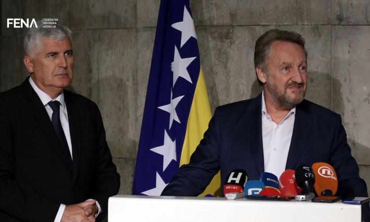 Photo of Sastanak visokih izaslanstava HDZ-a BiH i SDA najvjerojatnije slijedećeg tjedna
