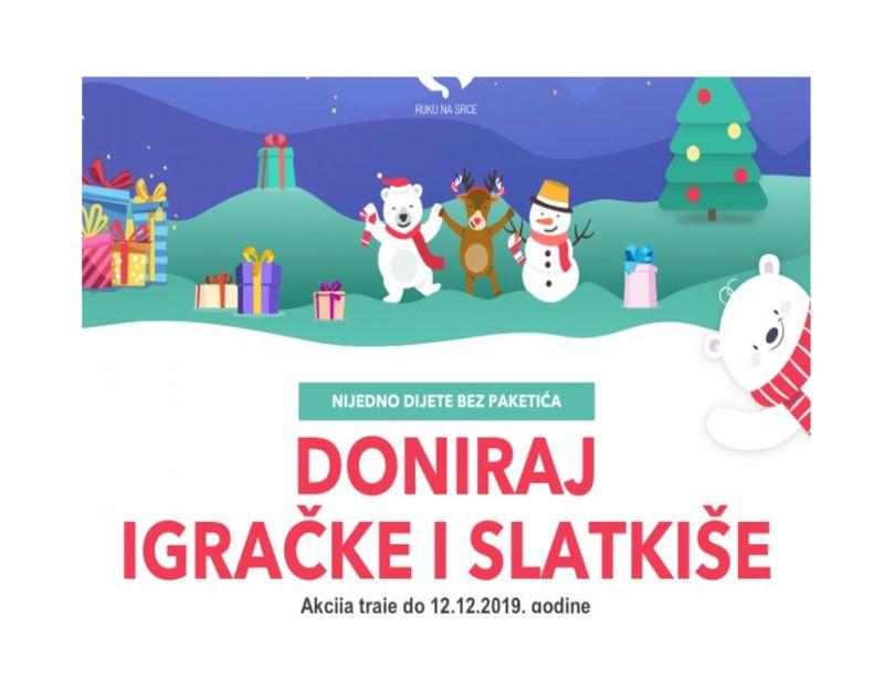 Photo of Sarajevo: Nijedno dijete bez paketića za Novu godinu