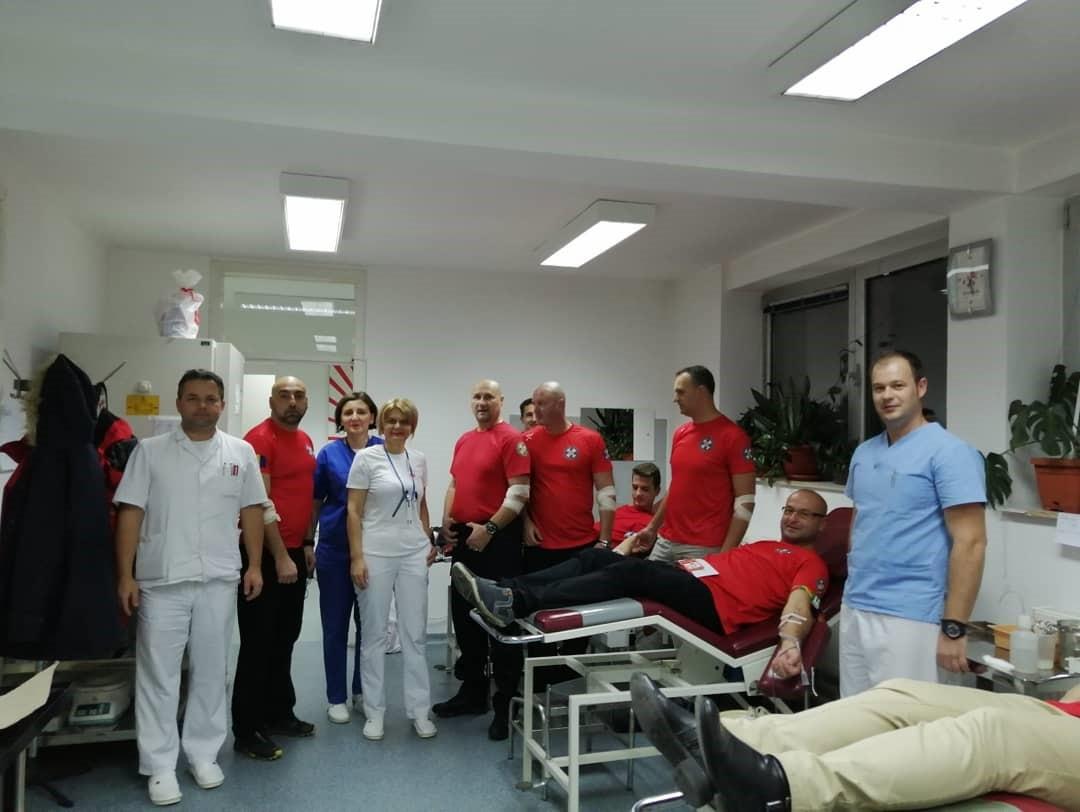 Photo of Članovi Gorske službe spašavanja Brčko distrikt BiH darovali krv