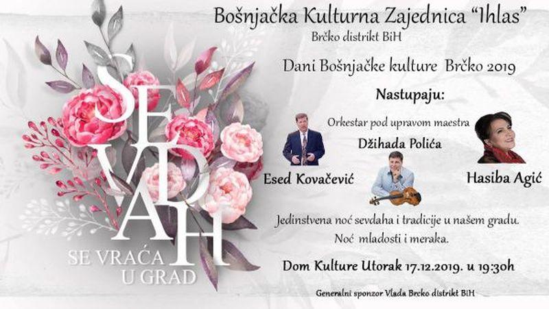 """Photo of U okviru """"Dana bošnjačke kulture"""" u utorak koncert """"Sevdah se vraća u grad"""""""