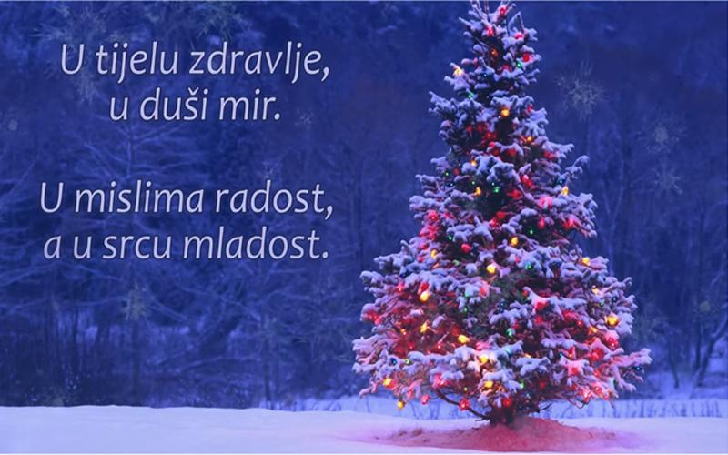 Photo of Božićna čestitka: Sretan vam Božić od srca!