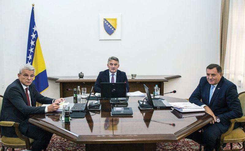 Photo of Sjednica Predsjedništva BiH završena, Dodik preglasan na svim tačkama dnevnog reda