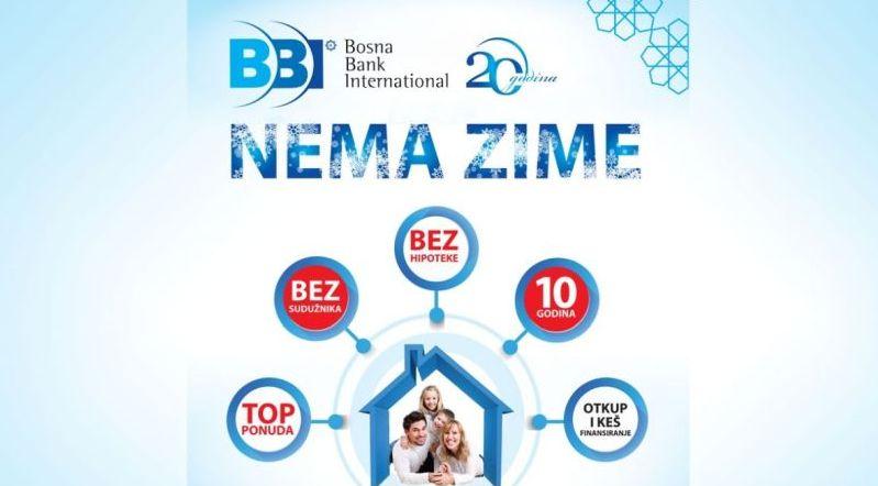 Photo of Posebna ponuda finansiranja za građane u BiH – sa BBI nema zime!