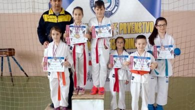 """Photo of Devet medalja iz Modriče za SD """"Pobjednik"""" Brčko"""
