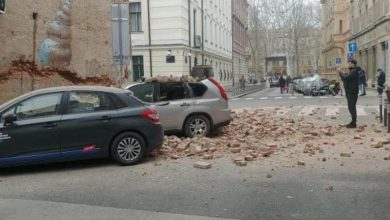 Photo of Snažan potres pogodio Zagreb, popucali zidovi na zgradama