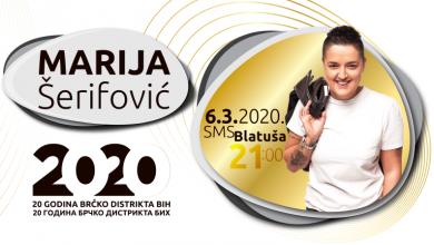 """Photo of Koncert Marije Šerifović bit će održan na drugoj lokaciji – SMS """"Blatuša"""""""