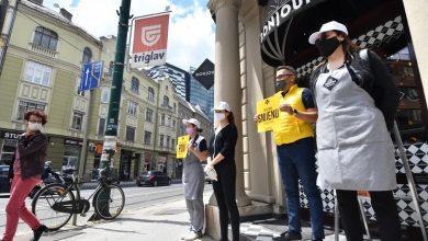 Photo of FBiH: Vlasnici malih poslovnih subjekata održali protest