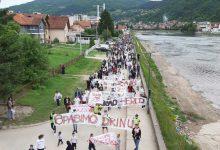 Photo of U Goraždu održana mirna prosvjedna šetnja 'Spasimo Drinu'