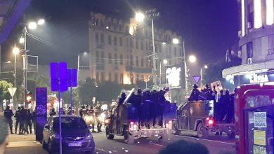 Photo of Биланс протеста у Београду – повријеђено 19 полицајаца и 17 демонстраната