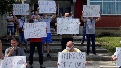 Photo of Protest u Novom Pazaru zbog stanja u bolnici i skrivanja podataka o broju umrlih
